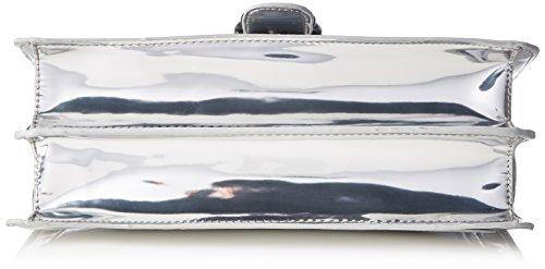 Handbag Mirror Madden 9 Metallic x femme B Steve T cm 5x20x30 Boakley Silber H cartable YxEHYgqw