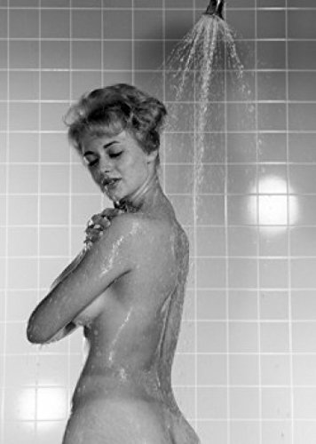 Pity, that nude woman taking shower