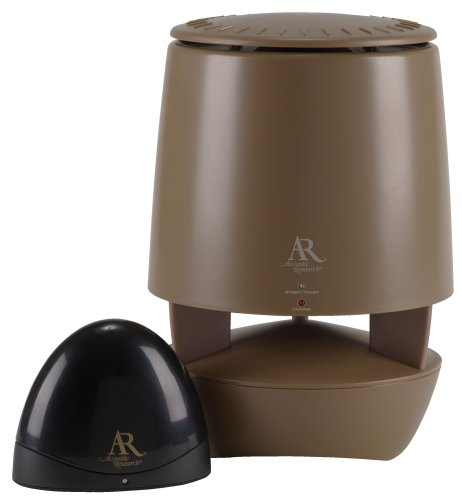 Acoustic Research AW822 900 Mhz Outdoor Wireless Speaker (Single, Brown) (Discontinued by Manufacturer)