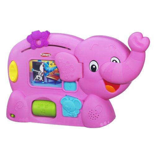 Playskool Learnimals ABC Adventure Pink Elephant Toy Ss Alphabet
