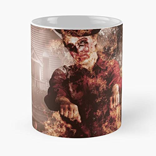 Legend Halloween Horror Zombie Funny Christmas Day Mug