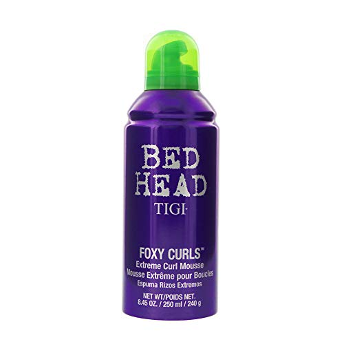 TIGI Bed Head Foxy Curls Extreme Curl Mousse, 8.45 Ounce