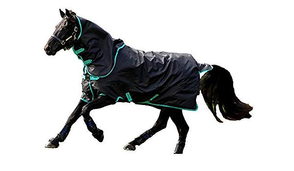 Horseware Amigo Hero 900 Turnout Medium 200g-Grey//Green