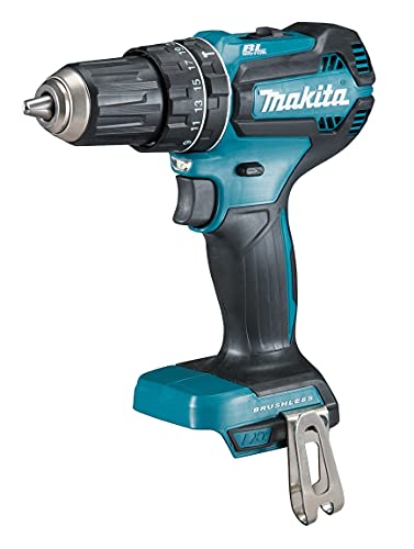 Makita DHP485Z rotary hammers Martillo perforador (Sin llave, 28500 ppm, 3,8 cm, 1,3 cm, Negro, Azul), Size