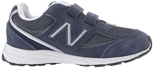 New Balance Boys' 888v2 Hook and Loop Running Shoe, Navy/Grey, 2 M US Infant by New Balance (Image #6)
