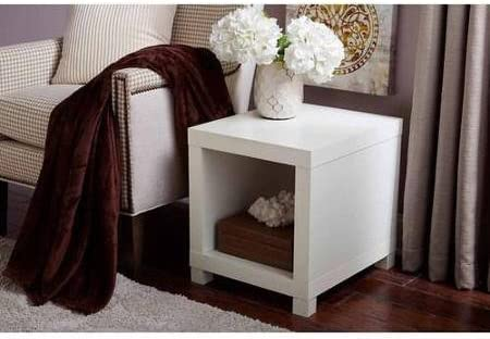 Better Homes and Gardens Accent Table White