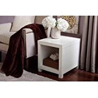 Better Homes and Gardens Accent Table (White)