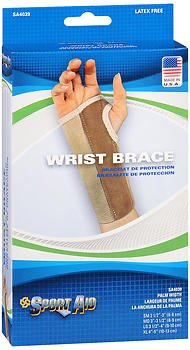 Sport Aid Left Wrist Brace Large Long - 1 ea, Pack of 4 by SportAid