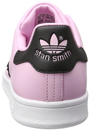 Femme Adidas core Baskets wonder Pink wonder Smith Mode Stan Rose Pink Black nIvSRn