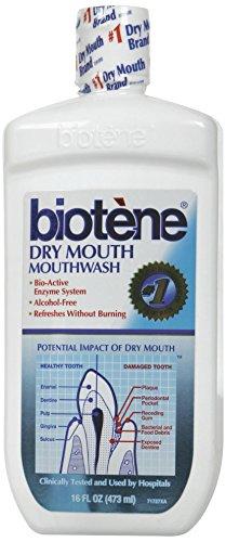 Medline MDS096160A Biotene Alcohol-Free Mouthwash, 16 oz. (Pack of 6) by Medline