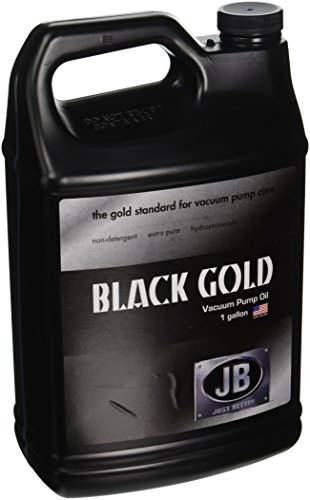 JB Industries DVO-24 Bottle of Black Gold Vacuum Pump Oil, 1 gallon Vacuum Pump Supply