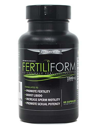 FertiliForm Mens/Male Fertility Supplement | Natural Blend of Vitamins and Supplements in Pills (Best Medicine To Get Pregnant)