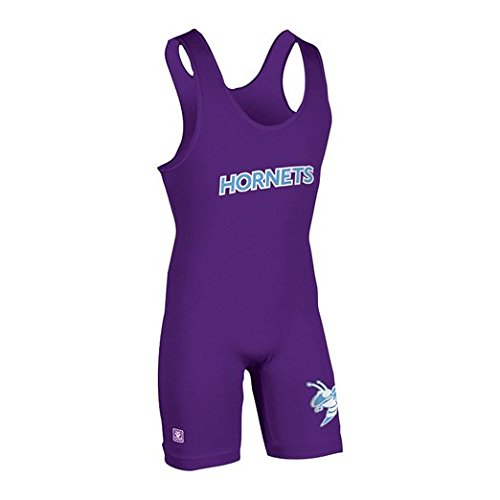 High Cut Wrestling Singlet (Brute E-Lycra High-Cut Wrestling Singlet - SIZE: X-Small, COLOR: Purple [Misc.])