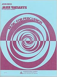 Gratis bøger download pdf format gratis Jazz Variants for Percussion Ensemble by John Beck på Dansk PDF B003AFX5JA
