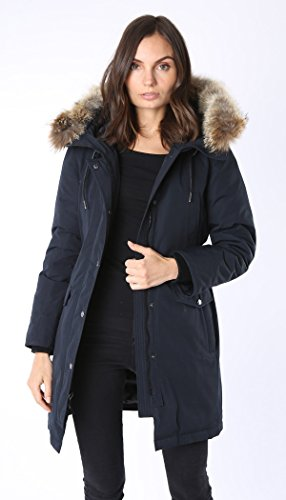 Firstmadenyc.com Down Filled Arctic Parka With Real Detachable - Women Canada Real