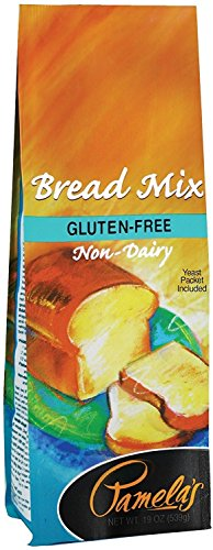 Pamela's Products Gluten-Free, Bread Mix, 19-Ounce Packages