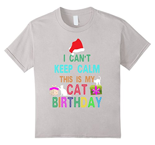 Kids Cool Cat Birthday with Merry Christmas costume ideas T-shirt 4 (Mother And Son Costumes Ideas)