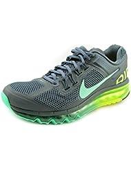 Nike Womens WMNS Air Max 2013, ARMORY SLATE/GREEN GLOW-VOLT