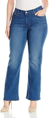 Levi's Women's Plus Size 415 Relaxed Bootcut Fit Jeans