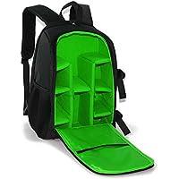 WESTLINK Camera Backpack DSLR SLR Bag Padded Water Splash Resistant with Tripod Holder for Nikon Canon Sony