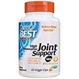 Doctor's Best High Absorption Joint Support with NEM, Curcumin C3 Complex and BioPerine, Non-GMO, Gluten Free, Soy Free, 60 Veggie Caps