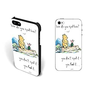 Cute Animal Print Design Case For Sam Sung Note 2 Cover with Quotes Cute Bear and Little Mouse Wood White Hard Plastic Case For Sam Sung Note 2 Cover Skin Screen Protector