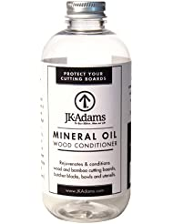 J.K. Adams 8-Ounce Mineral Oil Wood