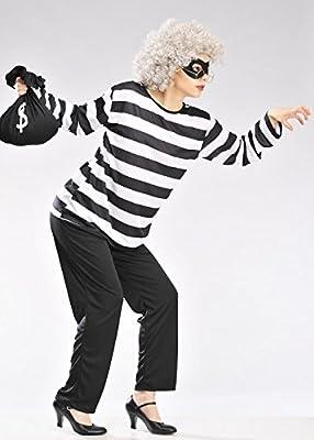 Magic Box Disfraz de Estilo Adulto de la Abuela del gángster del ...