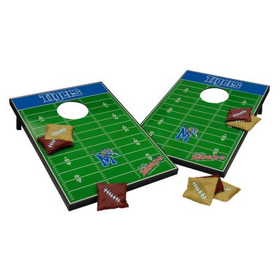 NCAA Cornhole Game Set NCAA Team: Memphis Tigers by Tailgate Toss