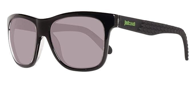 fcfbc3726664 Just Cavalli Unisex Adults  Sonnenbrille JC648S 5401N Sunglasses, Black  (Schwarz), 54