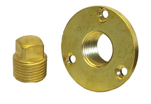 Shoreline Marine Garboard Plug Kit, Brass
