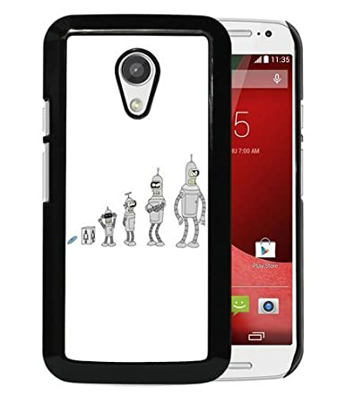 Amazon.com: Motorola Moto G 2nd Gen Cover,Futurama Bender ...
