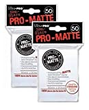 Ultra Pro PRO-MATTE (100 Count) White Deck Protector Sleeves - Magic the Gathering