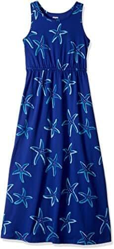 Gymboree Big Girls' Short Sleeve Starfish Maxi Dress