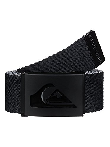 Quiksilver Embossed Belt (Quiksilver Men's Double Revo Belt, Black, One)