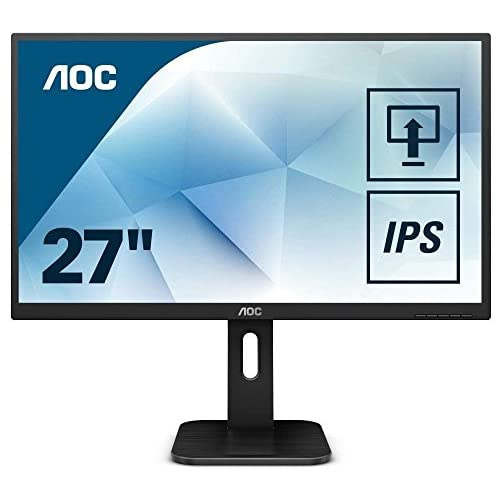 chollos oferta descuentos barato AOC Pro Line Q27P1 Pantalla para PC 68 6 cm 27 Wide Quad HD LED Plana Mate Negro Monitor 68 6 cm 27 2560 x 1440 Pixeles Wide Quad HD LED 5 ms Negro