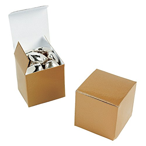 Mini Gold Gift Boxes