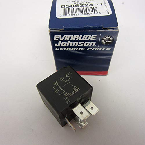 Bombardier Evinrude Johnson (OEM Evinrude Johnson BRP Outboard Power Trim Relay 1982-2006 - 586224)