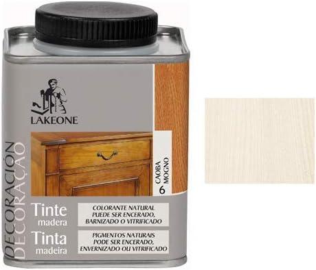 Lakeone LA50101/250M/15 Tinte para La Madera, Blanco, 225 ...