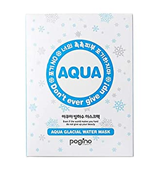 [Pogino] Korea face mask/Aqua Glacial Water Mask sheet / (30ml pack