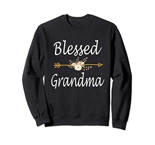 Blessed Grandma Sweatshirt Thanksgiving Christmas Gifts