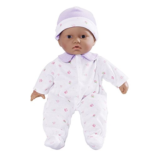 JC Toys La Baby Doll - Hispanic, 11-Inch