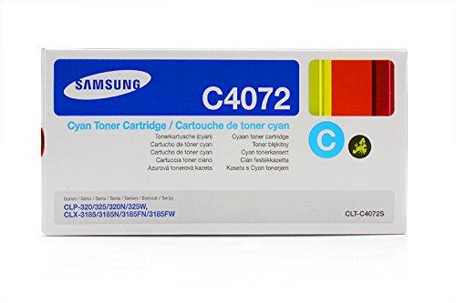 Samsung CLX-3185 W - Original Samsung CLT-C4072S - 1000 pages