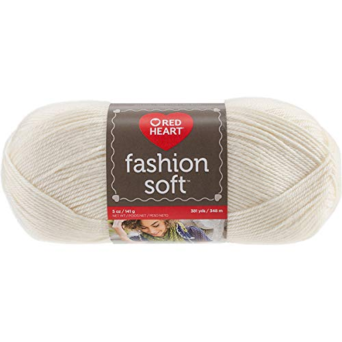Craft Yarn Cream - Coats Yarn E845.4603 Fashion Soft, Cream