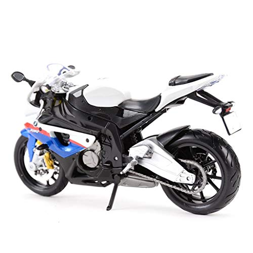 (JIANPING Motorcycle Toy Model S1000RR Tomahawk Road Locomotive Simulation Alloy Motorcycle Model Collection Gifts Model car)