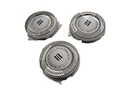 3 pcs Shaver Razor Head Replacement Blades Cutters for Philips Norelco HQ8 HQ9