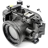 Polaroid SLR Dive Rated Waterproof Underwater Housing Case For The Canon G9X Camera