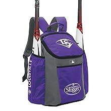 Louisville Slugger EB Series 3 Stick Pack Baseball Equipment Bags, Purple