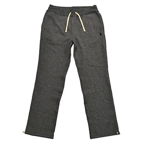 Polo Ralph Lauren Mens Fleece Athletic Pants (Large, Alaskan Heather)