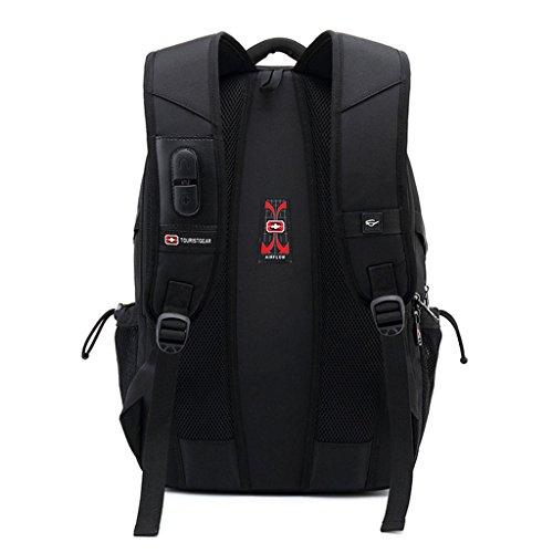 sac des le remplissage hommes A d'affaires dos de dos à sac A d'ordinateur à pour portable avec dos Couleur femmes d'école de port sac dos à Sac d'USB à d'ordinateur TaqB6xwnx